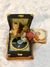 """Peter Fagan """"Vintage"""" 1985 Cat Figurine.. """"The Howlers with Tom"""""""