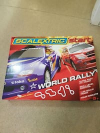 Scalextric Start World rally box Oslo, 1081