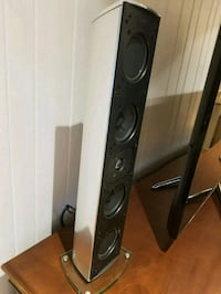 black and gray speaker system Lake Forest, 60045