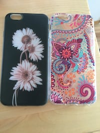 2 iPhone 6s covers for 100 kr