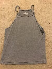 women's gray Hollister spaghetti strap top
