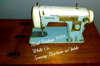 Antique white electric sewing machine Dade City, 33523