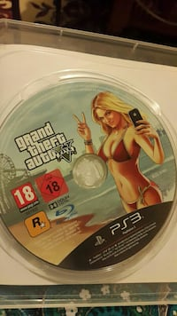 Disco de juego de Grand Theft Auto Five PS3