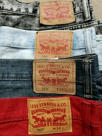 Levis Shorts 3 pair of shorts the red pair have been sold Cypress, 77429