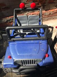 Blue Fisher Price Jeep Toronto, M6N 3A1