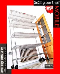 HEAVY DUTY CHROME SHELVING Langley