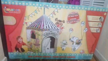 colouring tent