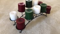 Arched Candle Holder (with Xmas Candles included) Leesburg, 20175