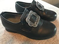 sort skinn loafers Drammen, 3039