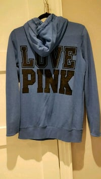 Blue and black Victoria's Secret PINK pullover hoo Toronto, M3N