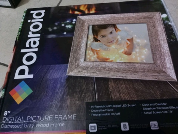 Used Polaroid 7 Inch Digital Picture Photo Frame 8 Inch For Sale In