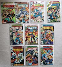 Invaders comic lot (10 books) Mount Airy