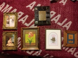 OLD AND RARE PICTURE FRAMES AND PICTURES
