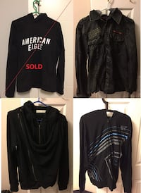 7 Branded Men L&M size Jackets New Westminster, V3M 2C8