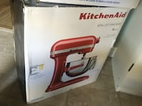 BRAND NEW Kitchenaid 6 quart EMPIRE RED KP26M1XER