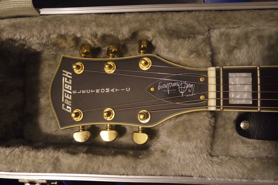 GRETSCH TIM ARMSTRONG LMTD EDITION ELECTRIC GUITAR. READ DISCRIPTION 8