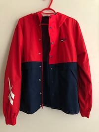 Reebok Classic Vector Hooded Track Jacket Windbreaker