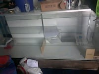 white wooden framed glass display counter East Los Angeles, 90022