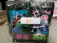 Infant Jordan socks and tees