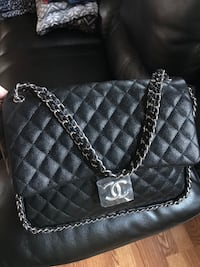 Jumbo size Chanel bag.  Sterling, 20164