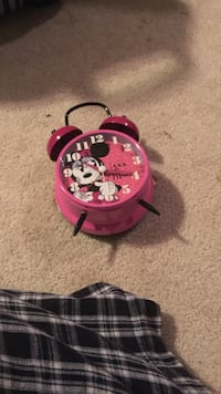 Minnie Mouse alarm clock  Stirling, T0K 2E0