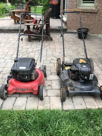 2 Lawn Mowers for parts or tune-up