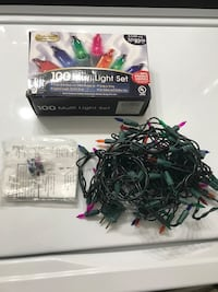 Christmas lights--2 sets