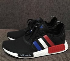 Adidas NMD R1 Tri-Colors / Size 10.5 (Never worn and comes with box)