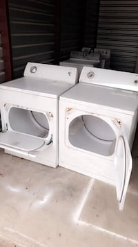 White front-load clothes dryers Mission, 78572