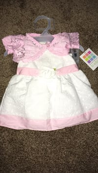girl's white and pink dress La Quinta, 92253