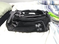 Black and white under armour duffel bag null, T7X 6H6