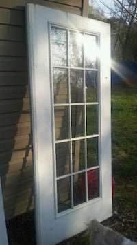 white wooden framed glass door Fort Washington, 20744