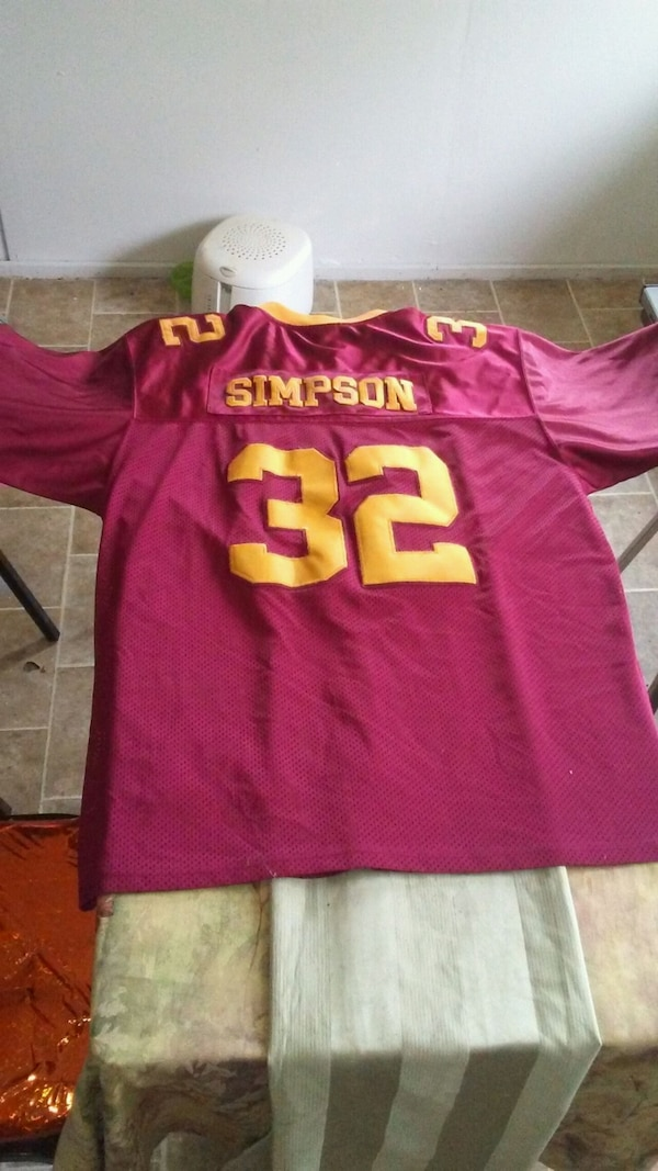 buy popular ab9ac 37751 O.J. Simpson Adidas USC Jersey