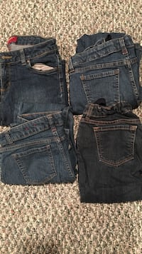 4 pairs of size 12 plus jeans  Orchard Hills, 21742