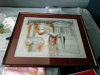 29 x 36 inch big frame with Roman Picture Richmond