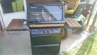 black and gray gas range oven Ellwood City, 16117