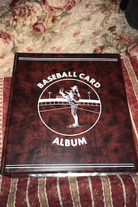 Baseball card binder ,high end binder with 28 sheets full of cards
