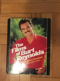 The films of Burt Reynolds hardback book by Nancy Streebeck. In perfect condition. The dust Cover has some minor damage along the top edge Upland, 91786