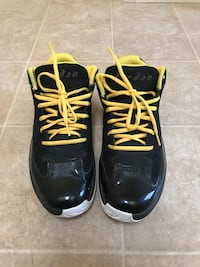 Black and yellow Jordan's size 9.5 Marina, 93933