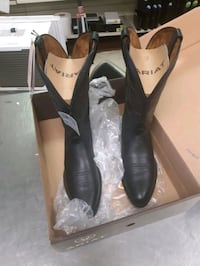 Size 12 Ariat black western boots Tuscaloosa