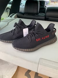Pair of black adidas yeezy boost 350 v2 New York, 11436