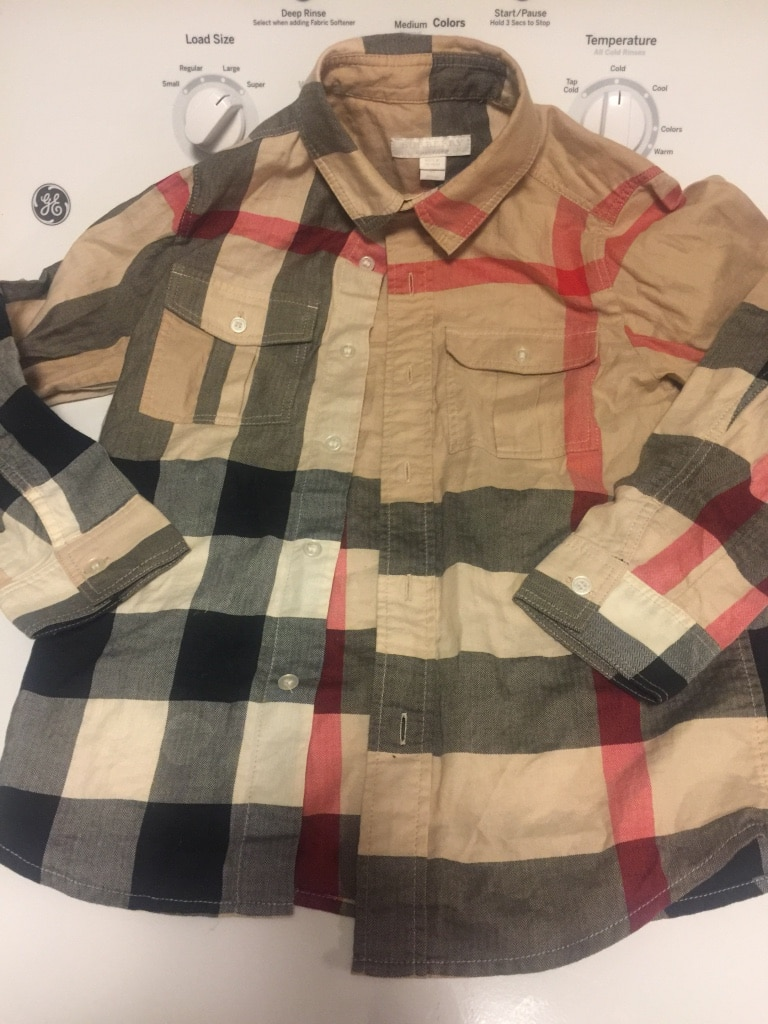 Letgo brown black and white plaid spo in pasadena md for Brown and black plaid shirt