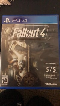 Fallout 4 PS4 game case Riverdale, 84405