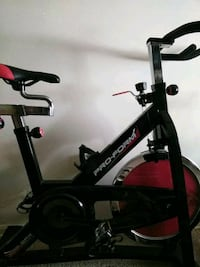 black and red Dynamic stationary bike Herndon, 20170