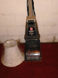 Hoover floor cleaner  40.00 lamp shade new 5.00