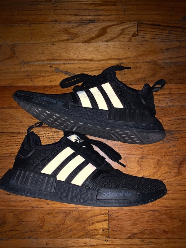 Sold Adidas Nmd R1 Triple Black In Dixon Letgo