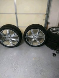 24 inches truck rims and tires Norfolk, 23504
