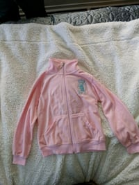 pink zip-up jacket Vancouver, V6G 2J2