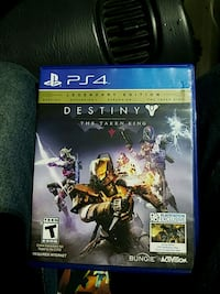 Destiny The Taken King PS4 game and case Central, 29630