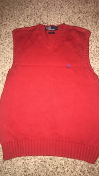 Polo Sweater Red